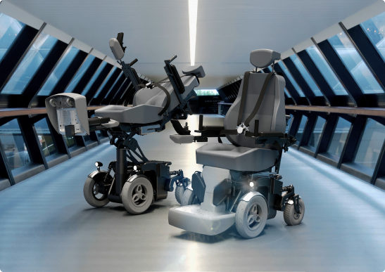 """Robotic wheelchair for social adaptation of persons with disabilities """"Hephaestus"""""""